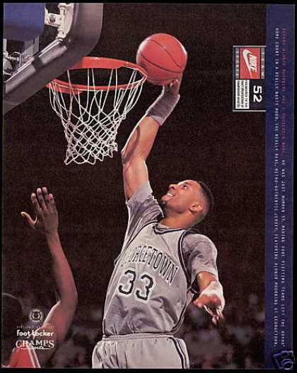 Alonro Mourning BasketBall Georgetown Nike (1994)