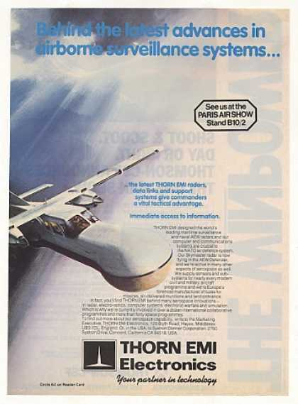AEW Defender Aircraft Thorn EMI Radar (1987)