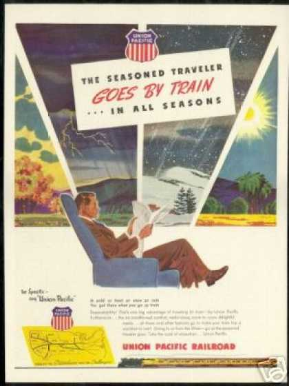 Union Pacific Railroad Train All Seasons (1946)