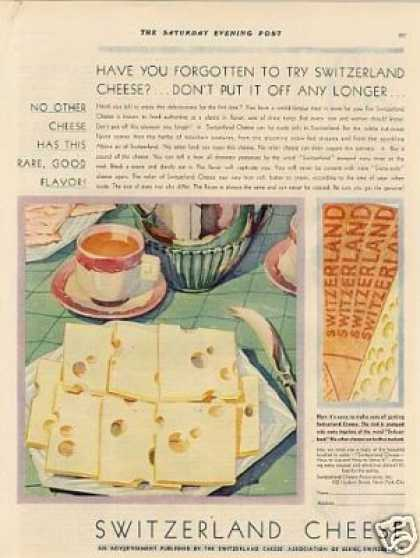 Switzerland Cheese Color (1930)