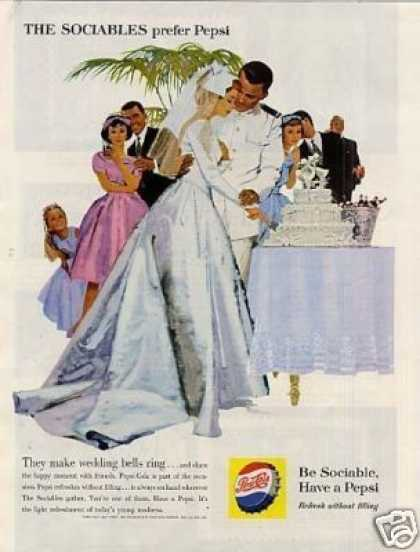 "Pepsi-cola Ad ""The Make Wedding Bells... (1960)"