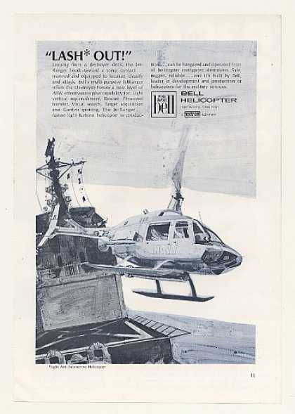 US Navy Bell JetRanger Helicopter (1968)