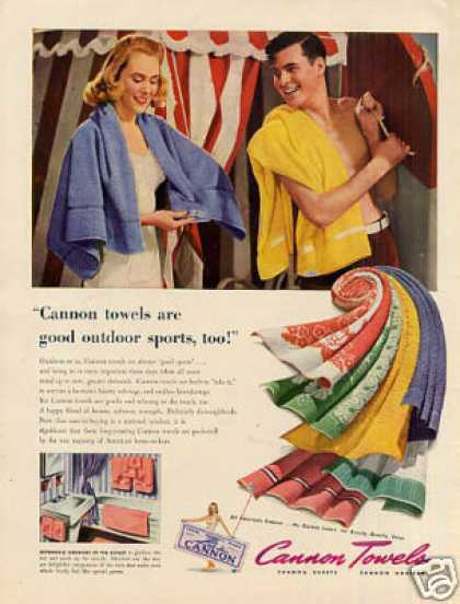 Cannon Towels (1942)