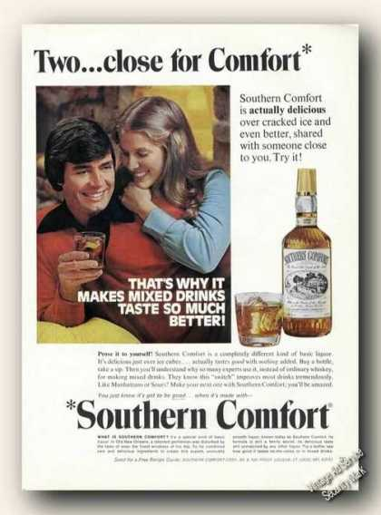 Southern Comfort Two Close for Comfort Promo (1975)