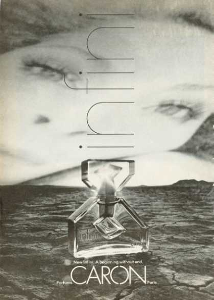 Caron Infini Perfume Bottle (1972)