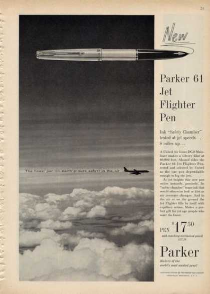 Parker 61 Jet Flighter Pen (1960)