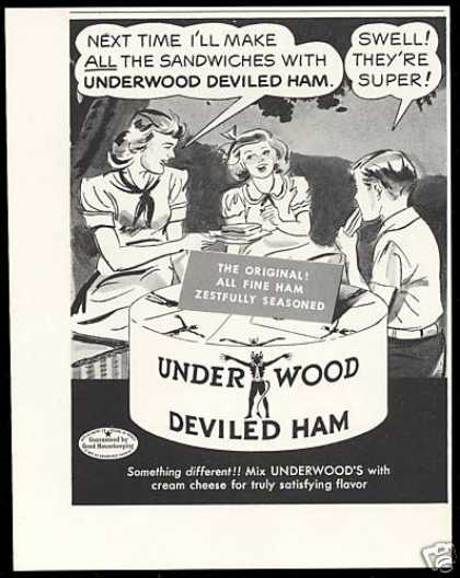 Underwood Deviled Ham Swell Super (1950)