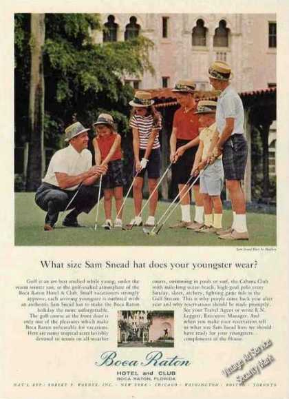 Sam Snead Golf Theme Boca Raton Hotel & Club (1963)