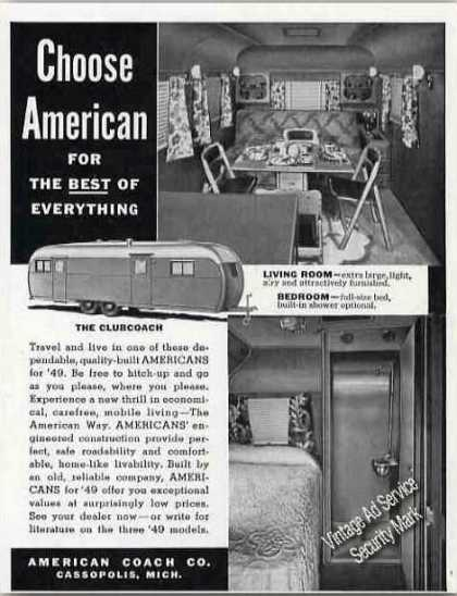 American Coach Co Cassopolis Mi Photos (1949)