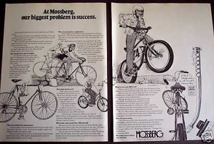Mossberg Bicycles Racing Mx 2pg Bike (1974)