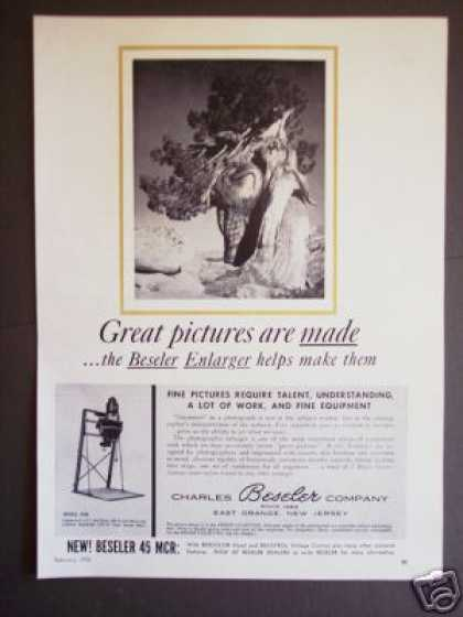 Beseler Photo Film Enlarger 45m Original (1956)