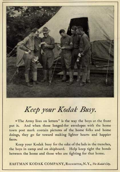 Kodak – Keep your Kodak Busy. (1918)