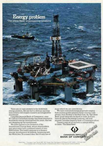 Offshore Drilling Platform Canadian Imperial Bk (1978)