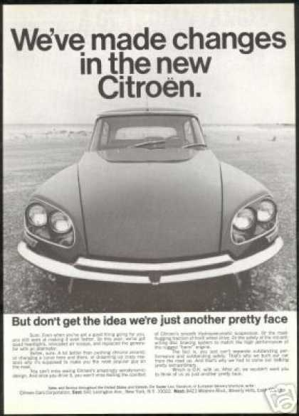 Citroen Car Vintage Photo Made Changes (1968)