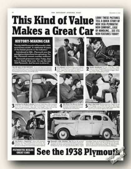 Plymouth Photos Print Promo (1938)