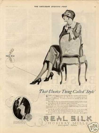 Real Silk Hosiery (1924)