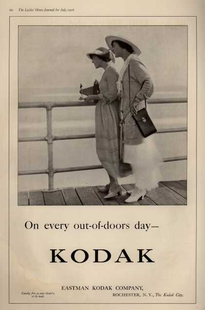 Kodak – On every out-of-doors day – Kodak (1916)