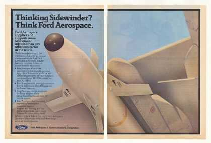 Ford Aerospace Sidewinder Missile Photo (1983)