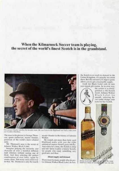 Johnnie Walker Black Worlds Most Talented Nose (1966)