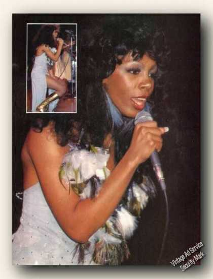 Donna Summer Photo Magazine Print Feature (1979)