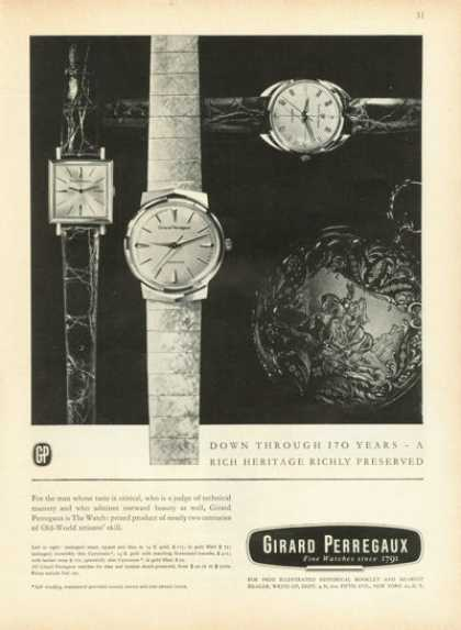 Girard Perregaux Gyromatic Watch (1961)