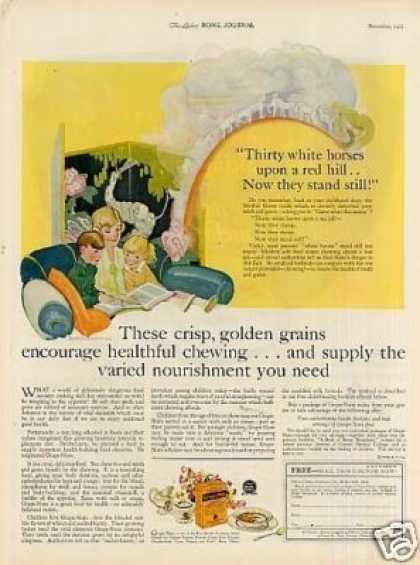 Grape-nuts Cereal Color (1925)