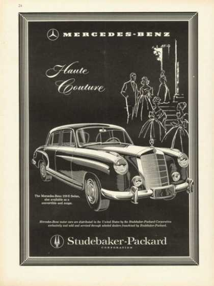 Studebaker Packard Merceds Benz 220 S Sedan (1958)