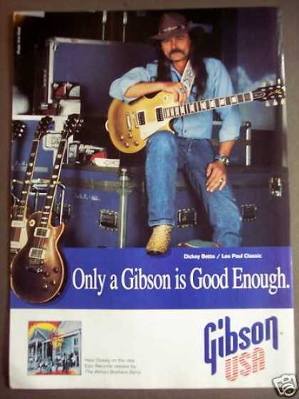 Gibson Les Paul Dickie Betts Music (1992)