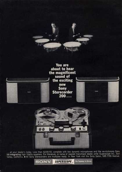 Sony Superscope Percussion Drummer (1964)