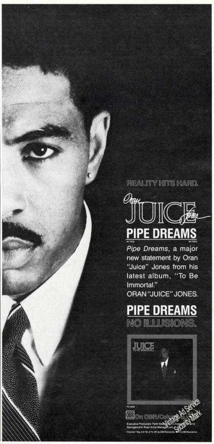 "Oran ""Juice"" Jones Photo Pipe Dreams Album (1989)"