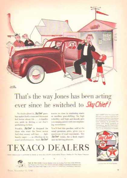 Texaco Sky Chief – Texaco Dealers (1940)