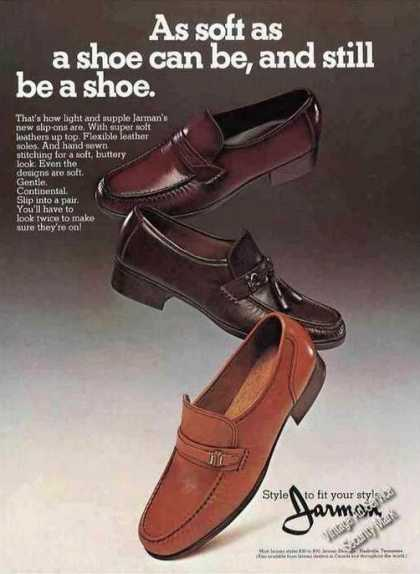 Jarman As Soft As a Shoe Can Be & Still Be Shoe (1979)