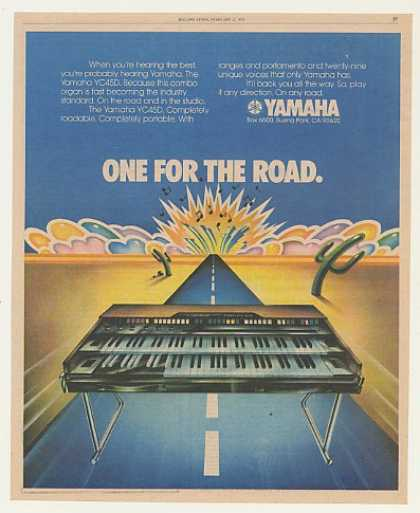 Yamaha YC45D Combo Organ One for the Road (1976)