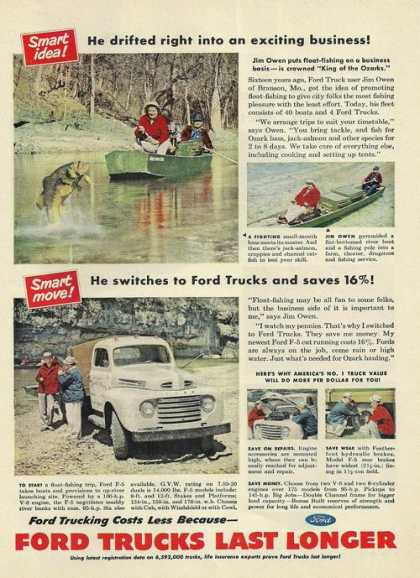 Ford Trucks Last Longer (1950)
