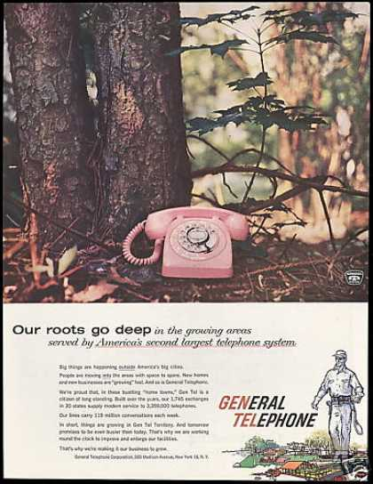 General Telephone 2nd Largest System (1958)