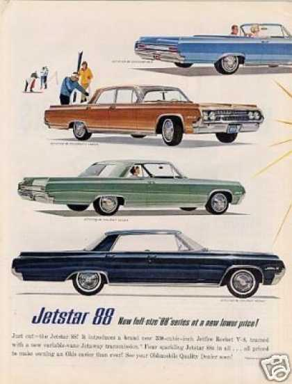 Oldsmobile Cars Ad 2 Page (1964)