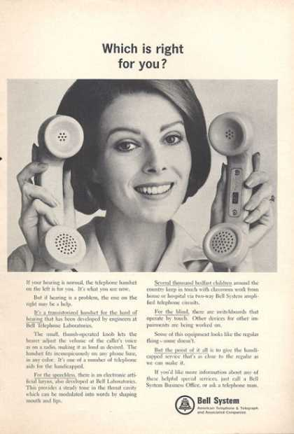 Bell System Phone Adjust Volume (1966)