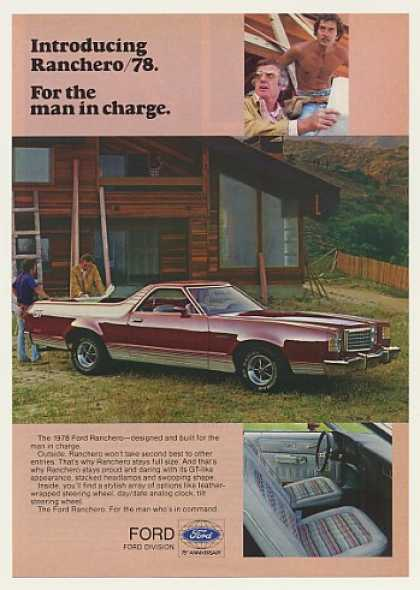 Ford Ranchero GT For Man in Charge Home Builder (1978)