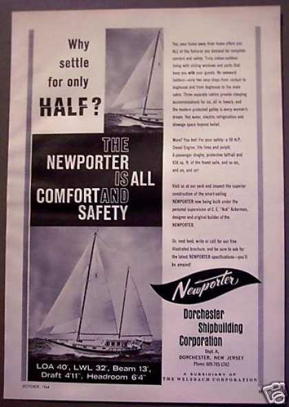 Newporter Ship Building Boats (1964)