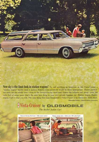 Olds Oldsmobile Vista Cruiser Wagon 70's Show (1964)