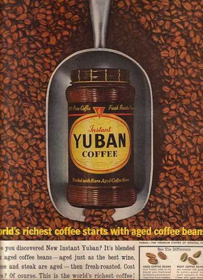 Yuban's Instant Coffee (1961)