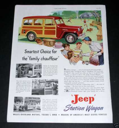 Jeep Station Wagon, Family (1949)