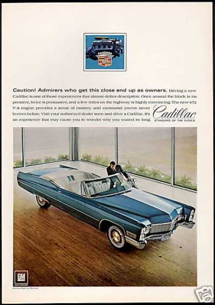 Cadillac Convertible Car Showroom Future Owner (1968)