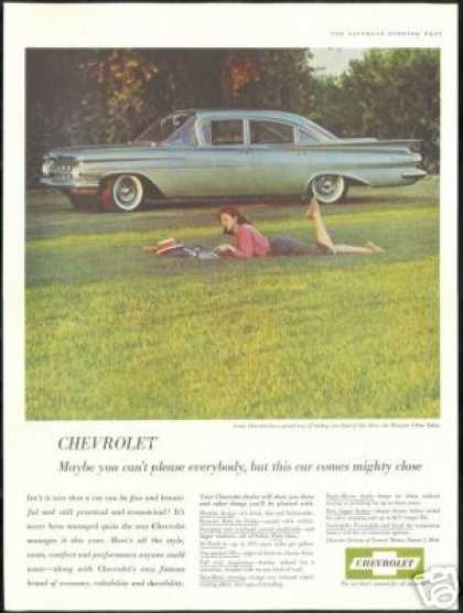 Chevrolet Biscayne 4dr Sedan Photo Vintage Car (1959)