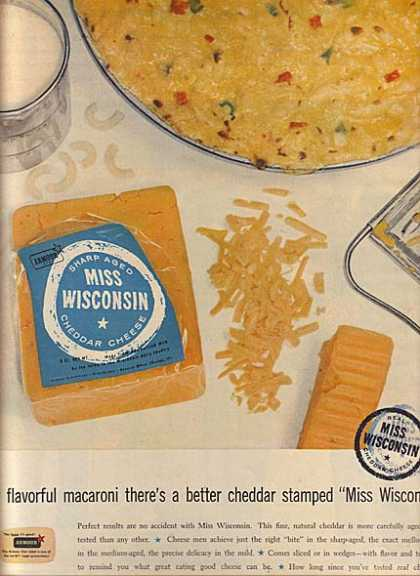 Armour's Cheddar Cheese (1957)