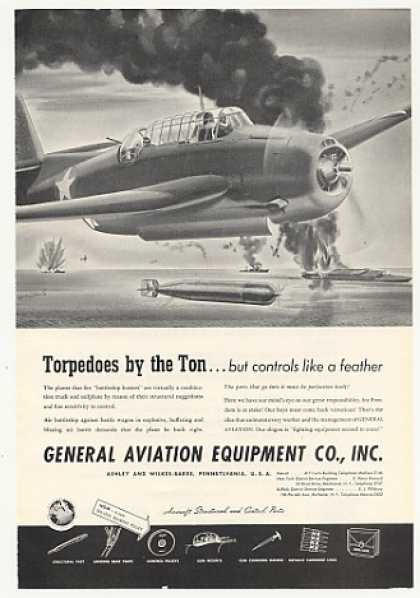General Aviation Equipment Aircraft Torpedo (1943)