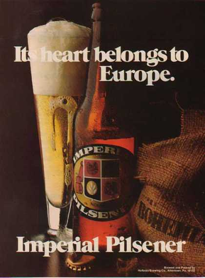 Imperial Pilsener Beer – Its heart belongs to Europe (1976)