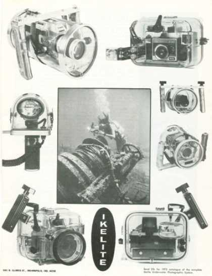 Ikelite Underwater Slr Camera Housing Case (1972)
