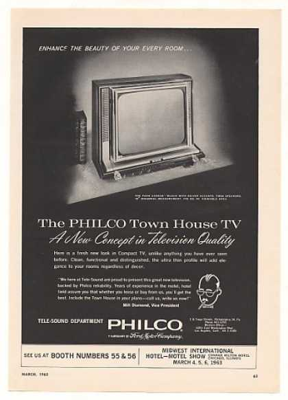 Philco Town House Park Avenue Hotel TV (1963)