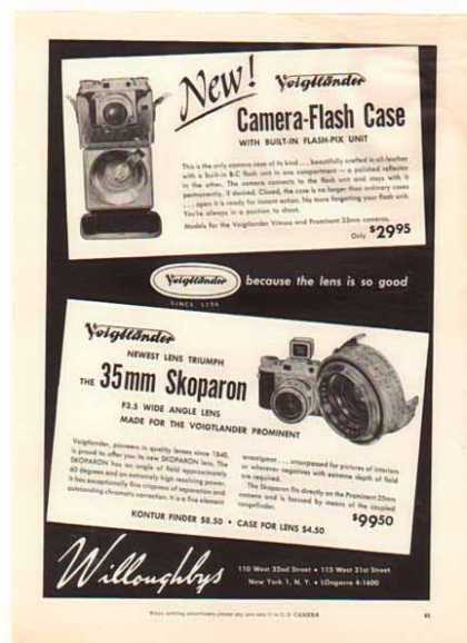 Skoparon 35mm – Willoughbys Camera Store (1954)